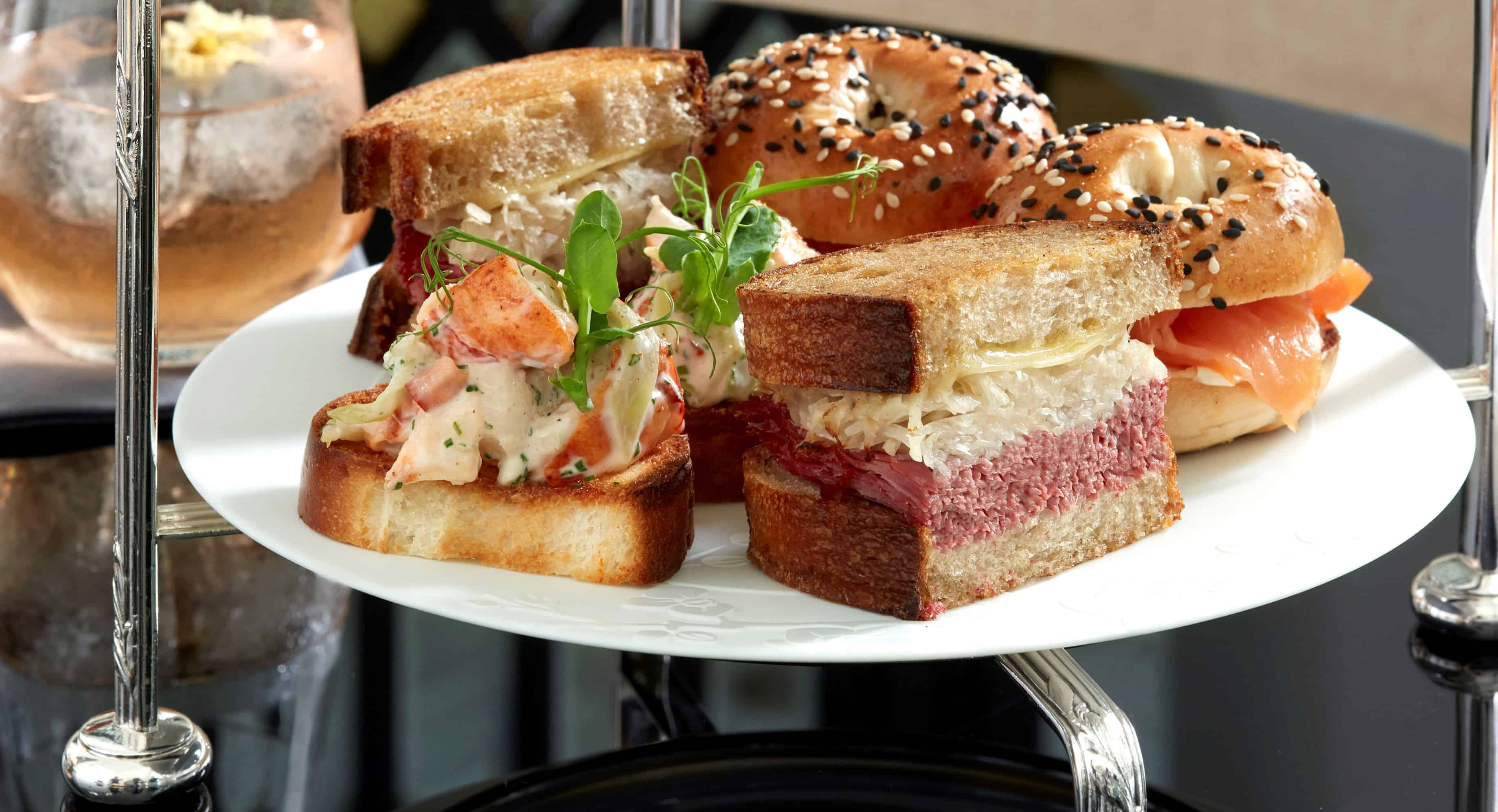 Reuben Sandwiches and Lobster Rolls