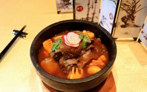 Traditional Braised Lamb With Mushroom and Bamboo Shoot