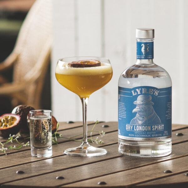 Lyre's Passionfuit Martini
