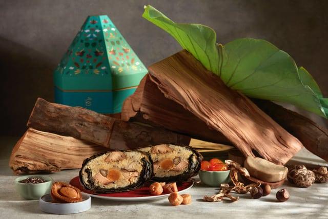Applewood-smoked Rice Dumpling