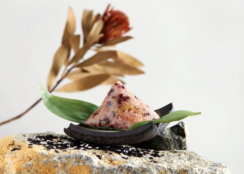 Crystal Jade Grandma's Braised Pork Belly with Purple Glutinous Rice Dumpling