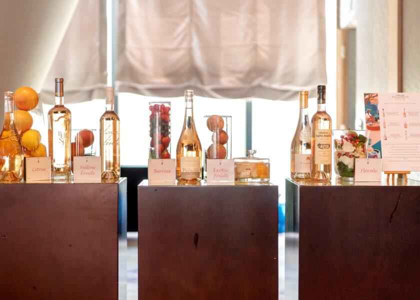 The diverse range of Provence rosés