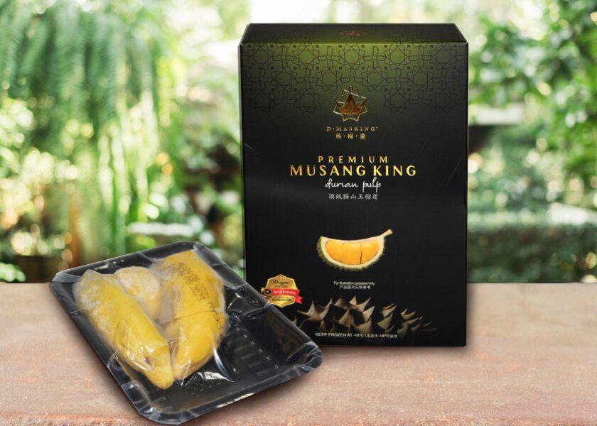 Frozen Premium Musang King Durian Seed Pulp