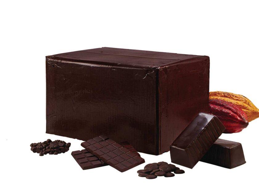 Organic cocoa paste